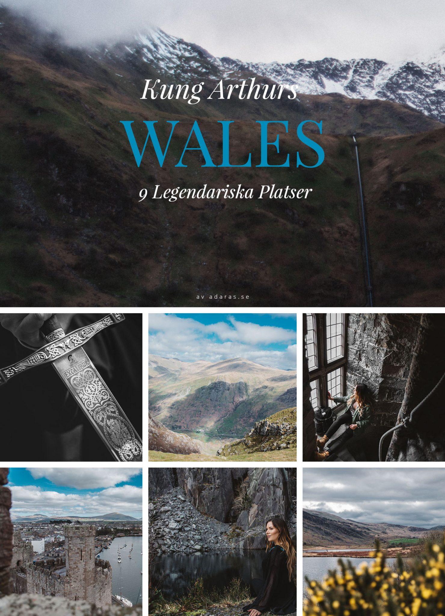 I Kung Arthurs fotsteg: Upptäck 9 Legendariska Platser i Wales