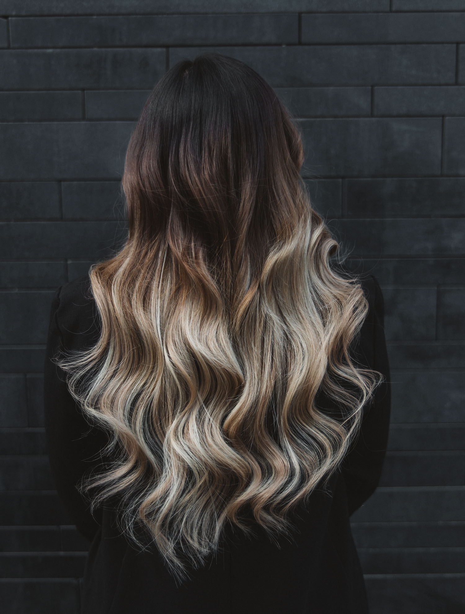 Balayage and beach waves - After Rapunzel of Sweden's Hair Extensions