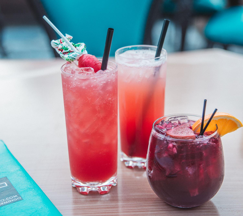 Cute drinks at Mundo Mingo in Las Vegas