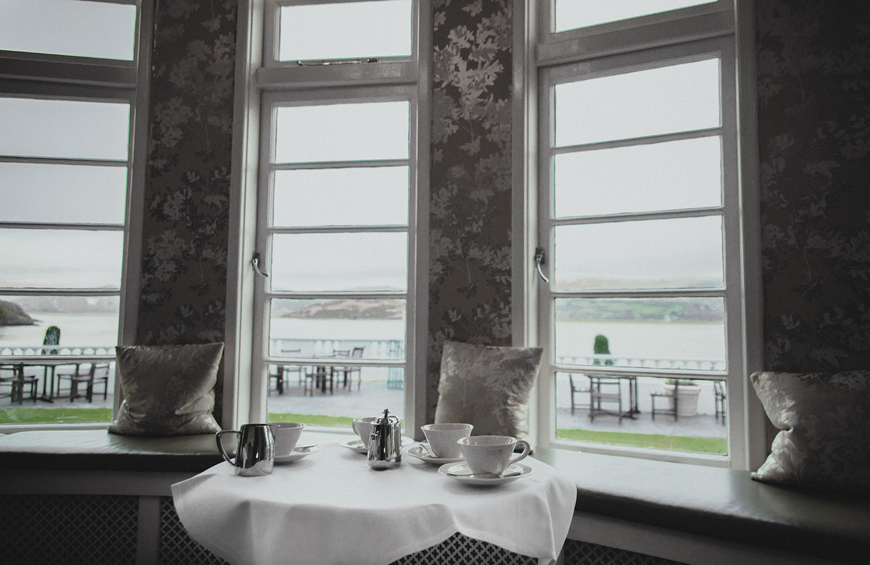 Afternoon tea in Portmeirion