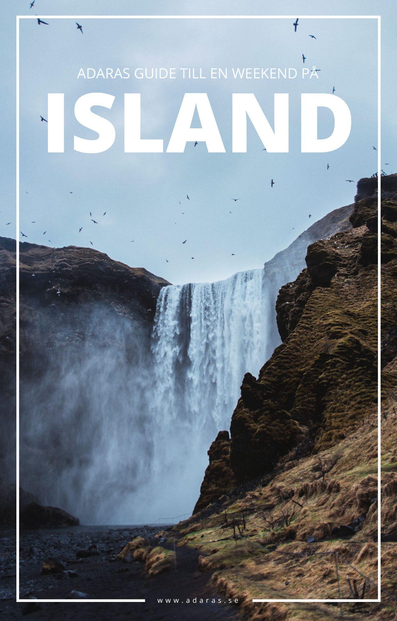 Reseguide: En weekend på Island - Så gör du det mesta av en resa till Reykjavik