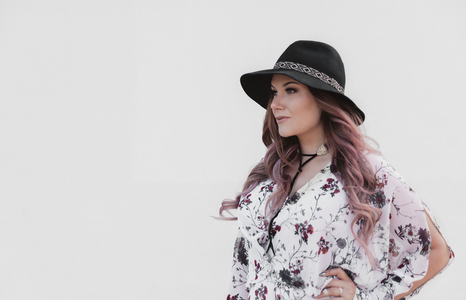 Pastel purple balayage & #Colorfulhair with L'Oreal Professionnel