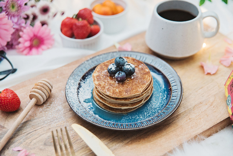 Swedish Breakfast Flatlay - Plättar & kaffe