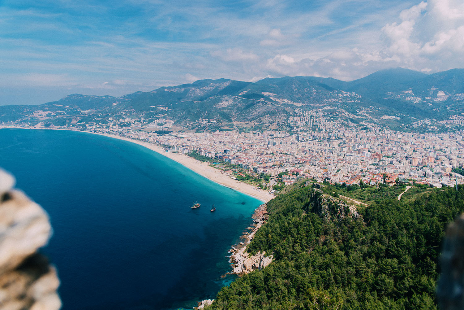 View from Alanya Castle (Alanya Kalesi)