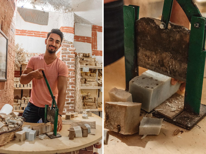 Turkish soap (Sabun) at Nature Han Store