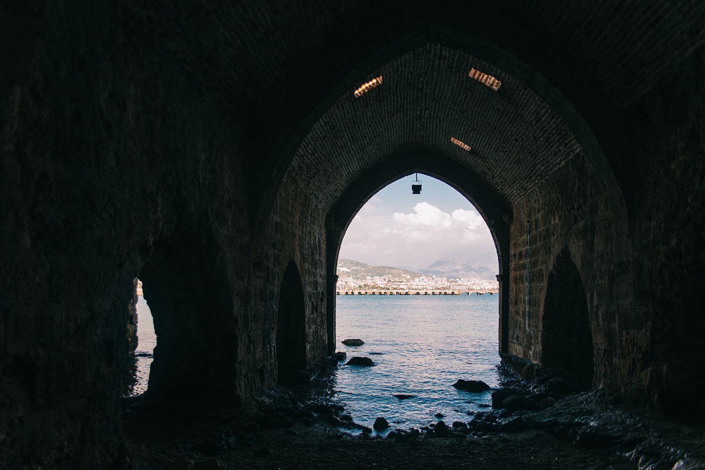 The Old Shipyard (Old dockyard) in Alanya, Turkey