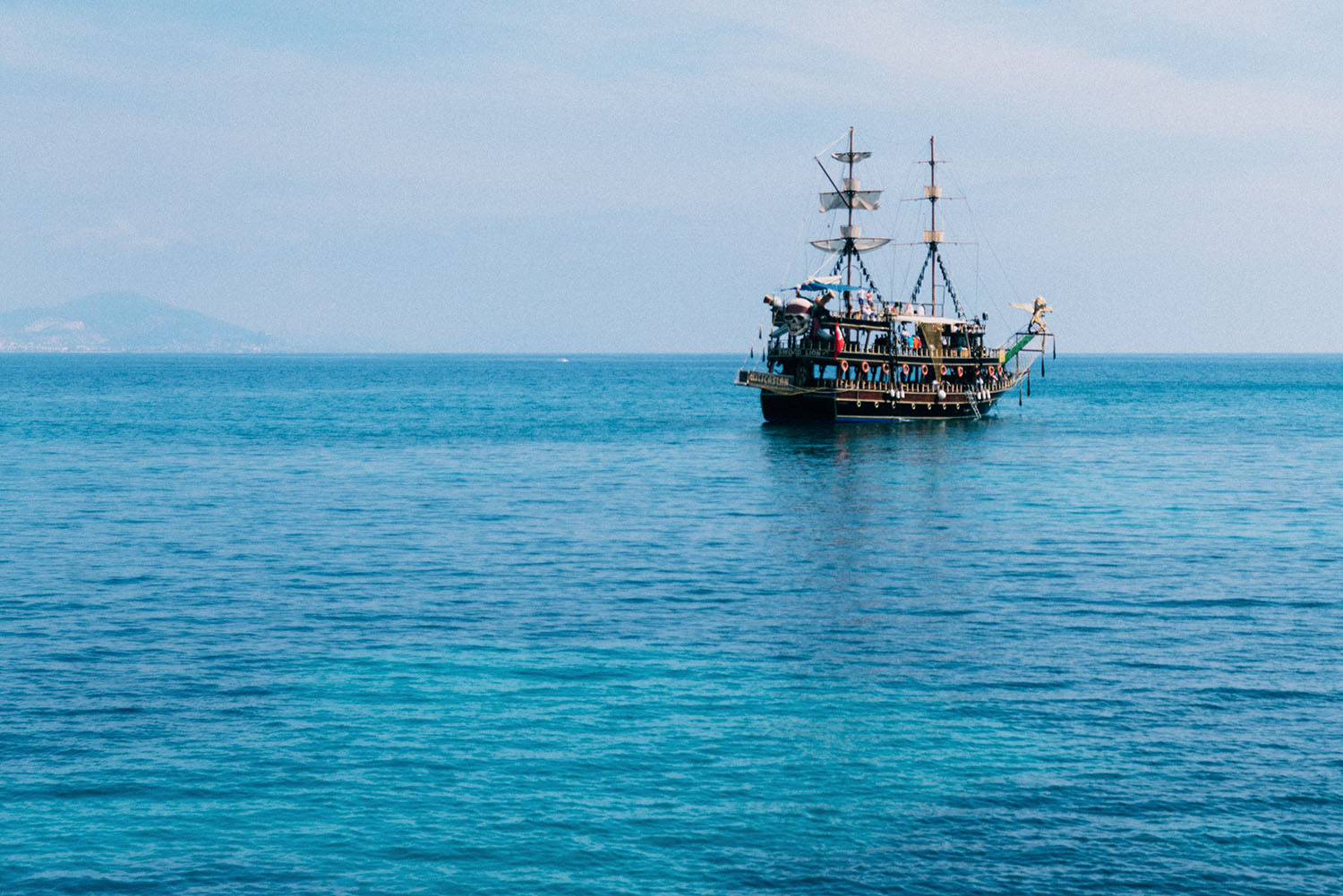 Alanya Pirate Ship Boat Tour