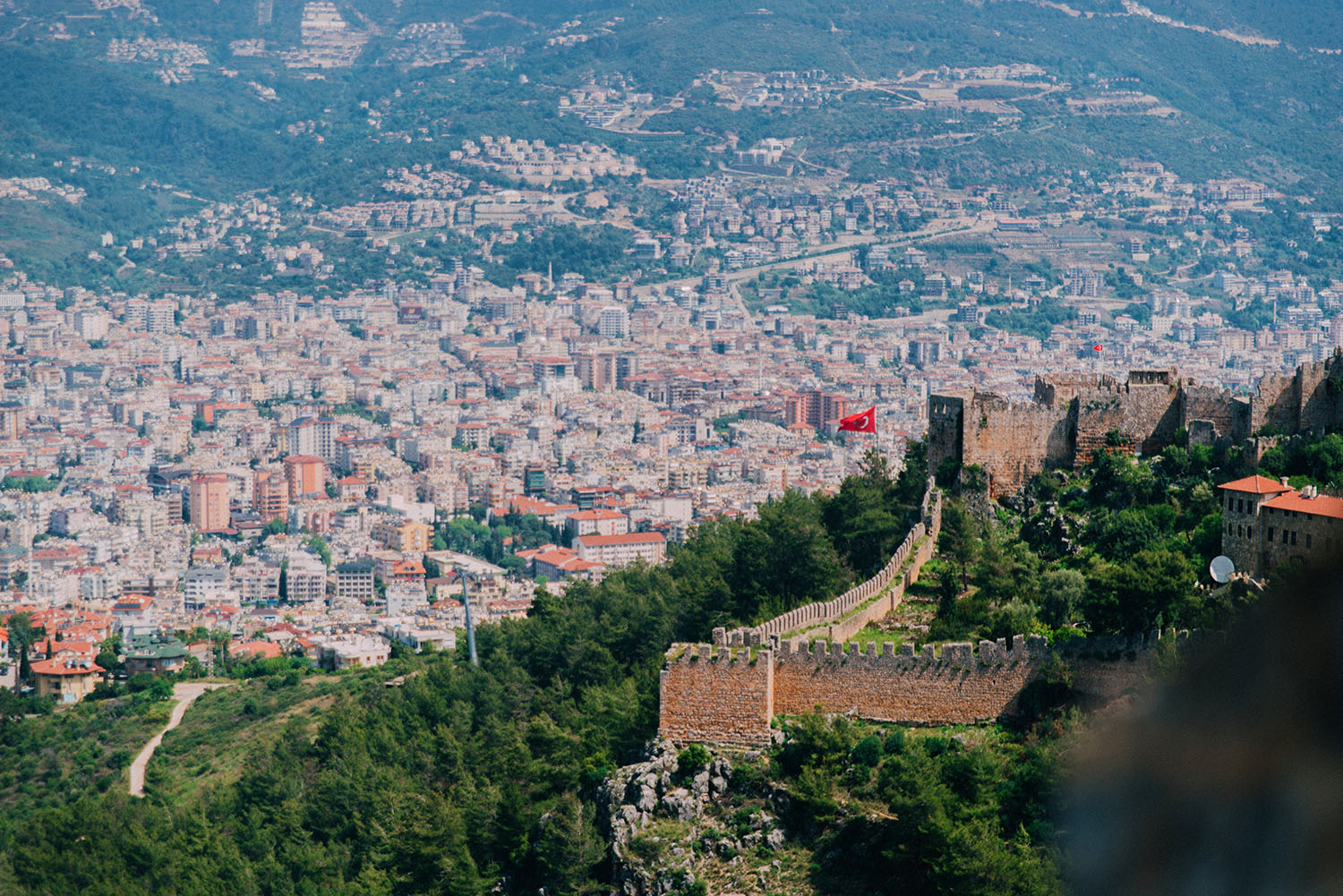 Alanya Castle viewpoint