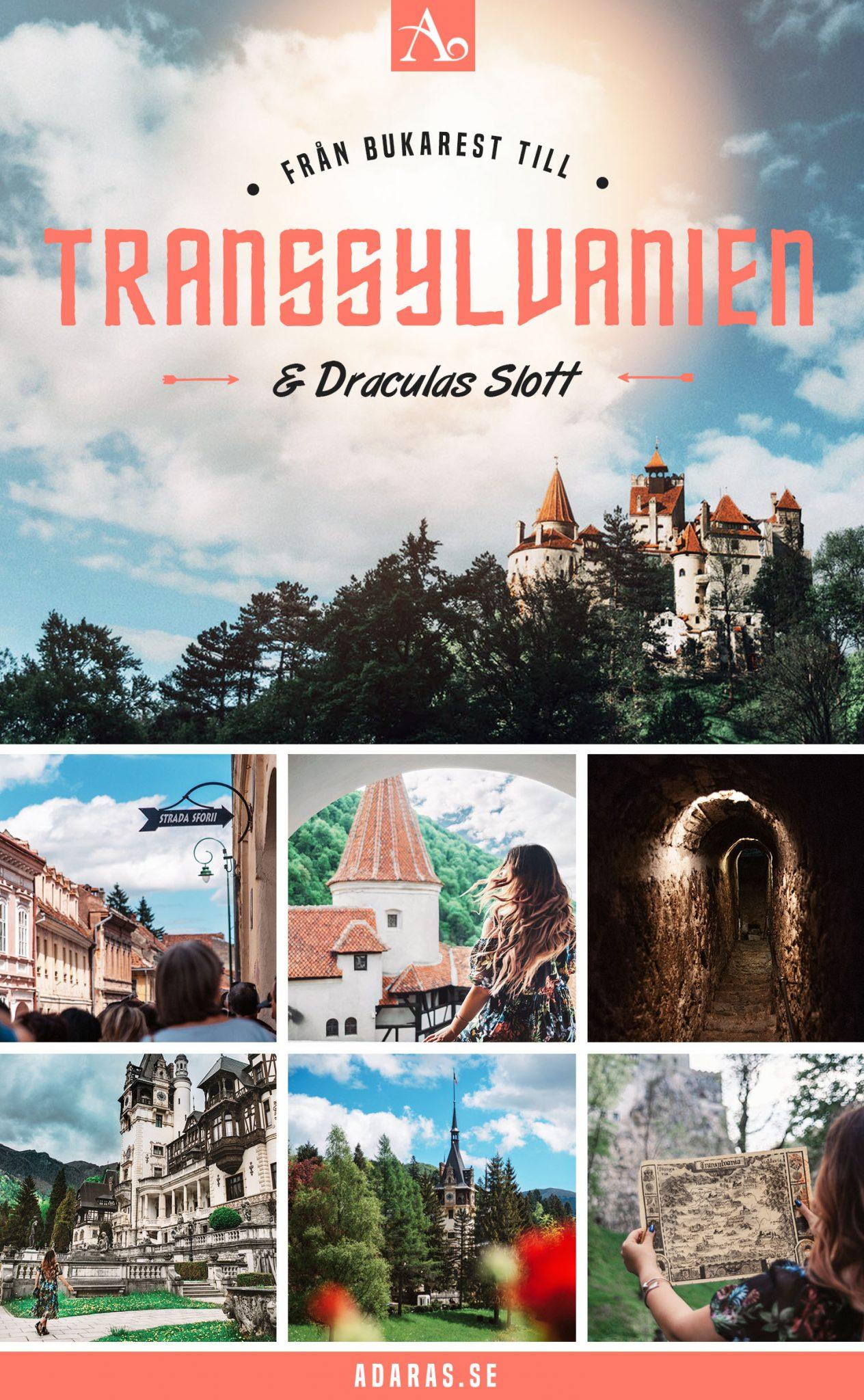 En dagstur från Bukarest till Draculas Slott i Transsylvanien