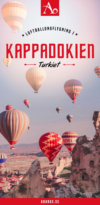 GUIDE: Flyg luftballong i Kappadokien, Turkiet