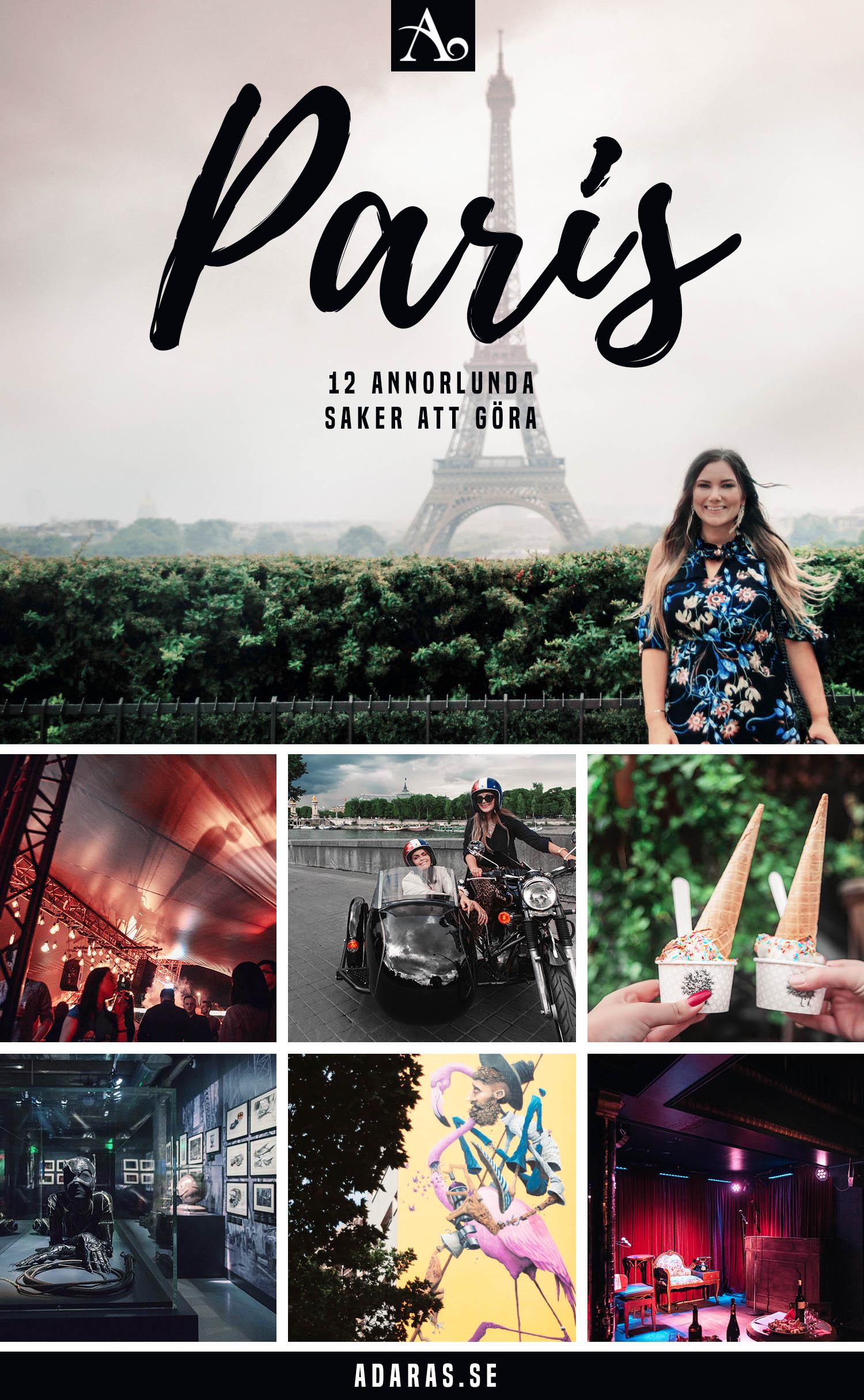 12 Annorlunda Saker att Göra i Paris