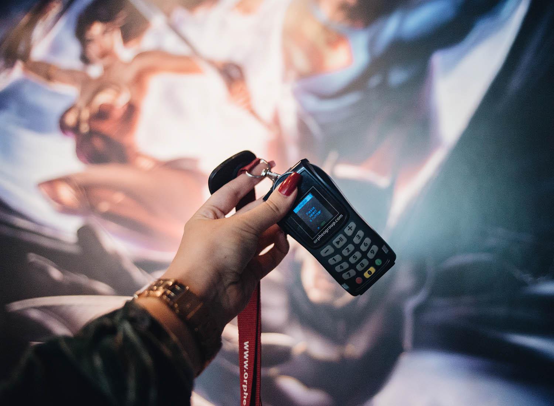 Audio Guide at Outside Art Ludique le Musée in Paris