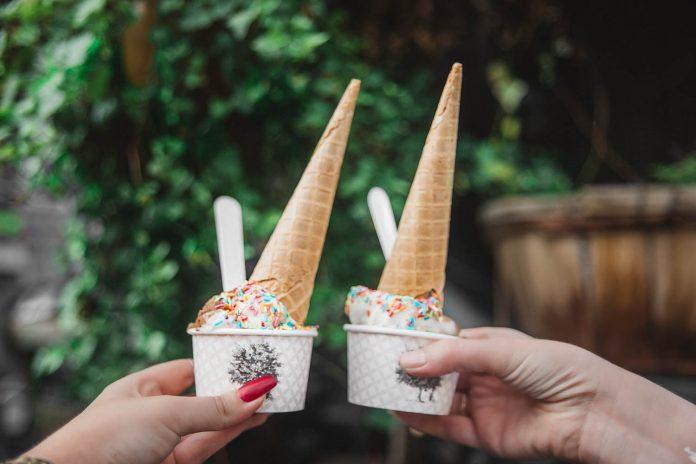 Danish Ice Cream at Ground Control, Paris