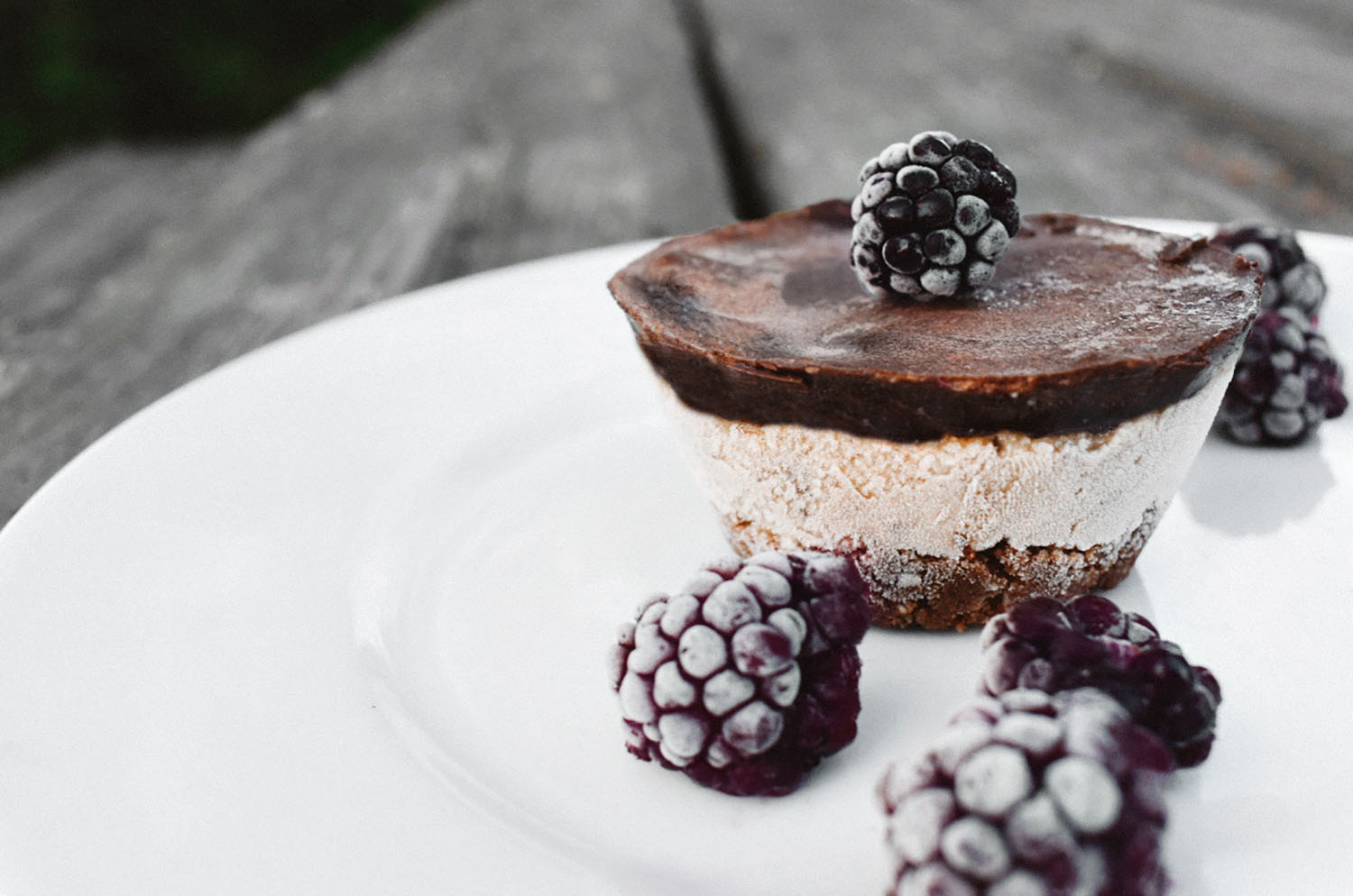Raw vegansk cheesecake
