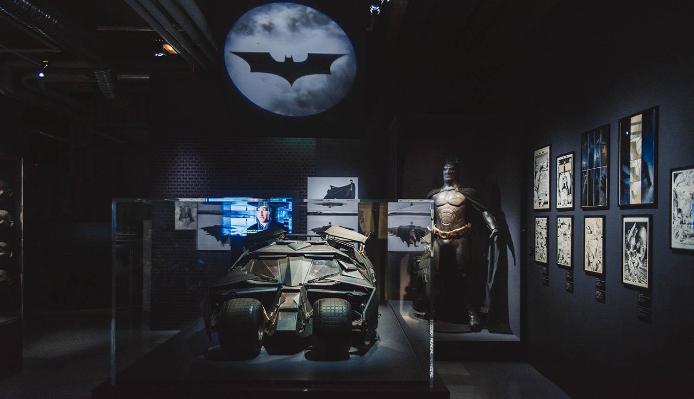 Batman exhibition at The Art of DC: The Dawn of Superheroes at Art Ludique le Musée