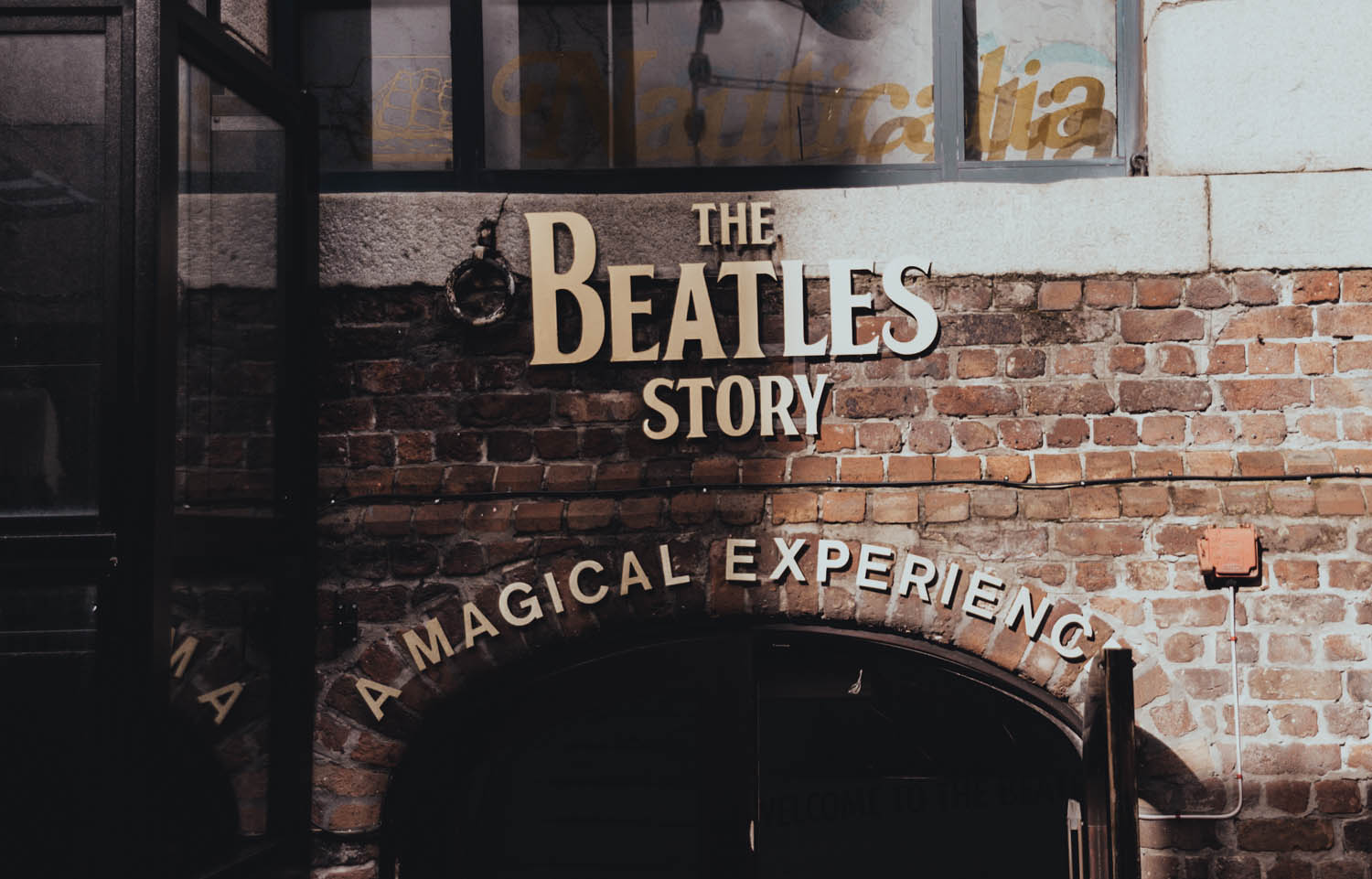 The Beatles Story - Entrance