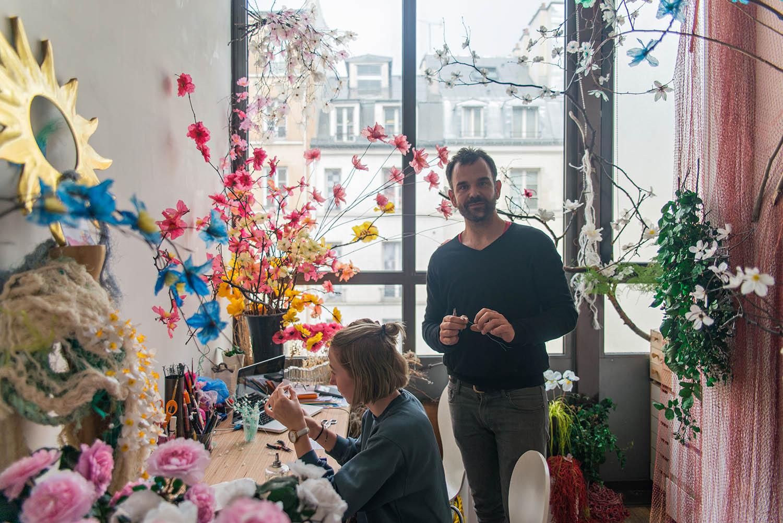 William Amor at Plateau, Paris
