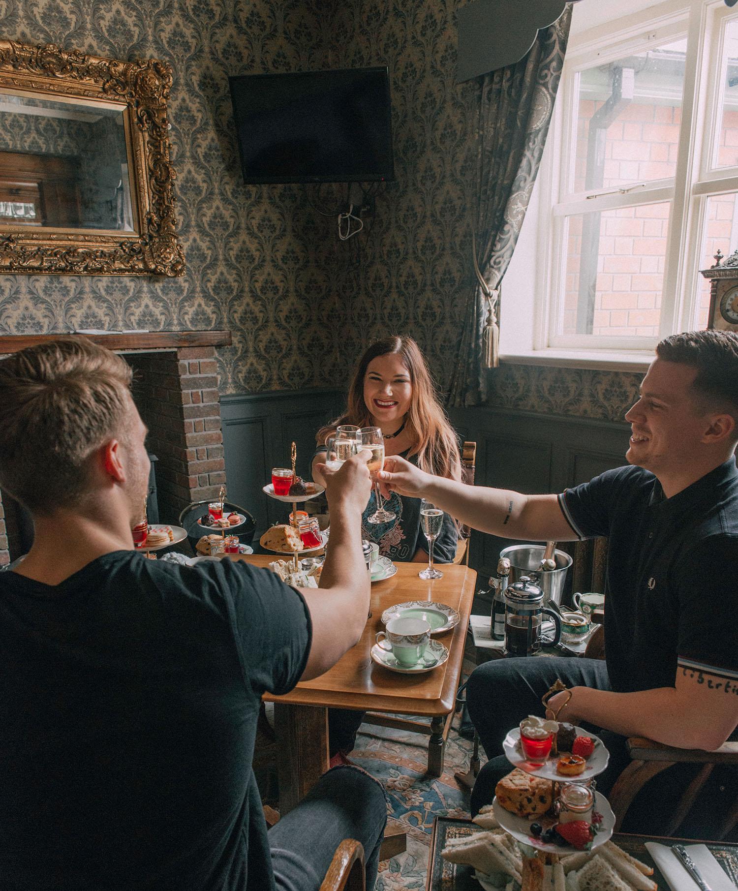 Afternoon Tea in The Aston Tavern in Birmingham