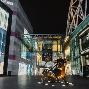 Bullring Birmingham by night