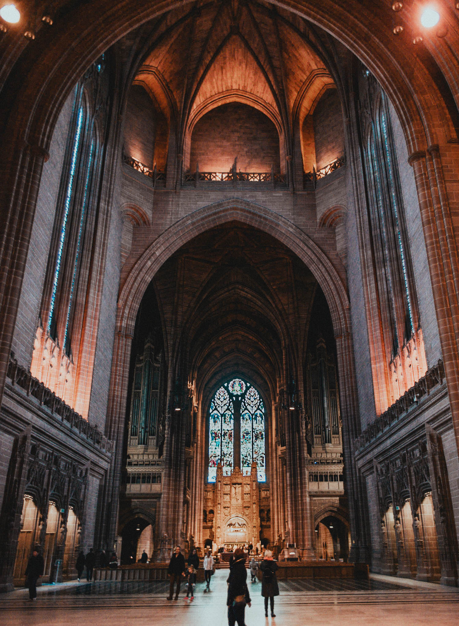 Inside the stunning Liverpool Cathedral