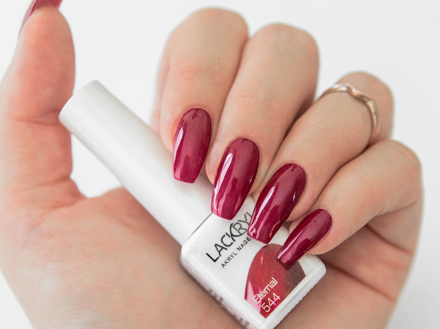 Lackryl Akryl Nagellack Eternal - Red Manicure