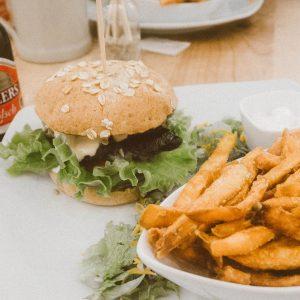 Vegan Bunte Burger