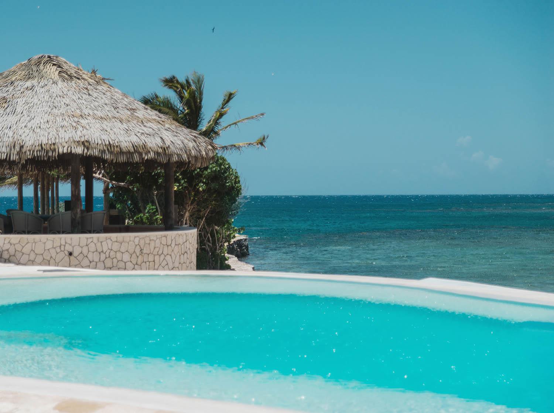 Pool at Golden Eye Resort
