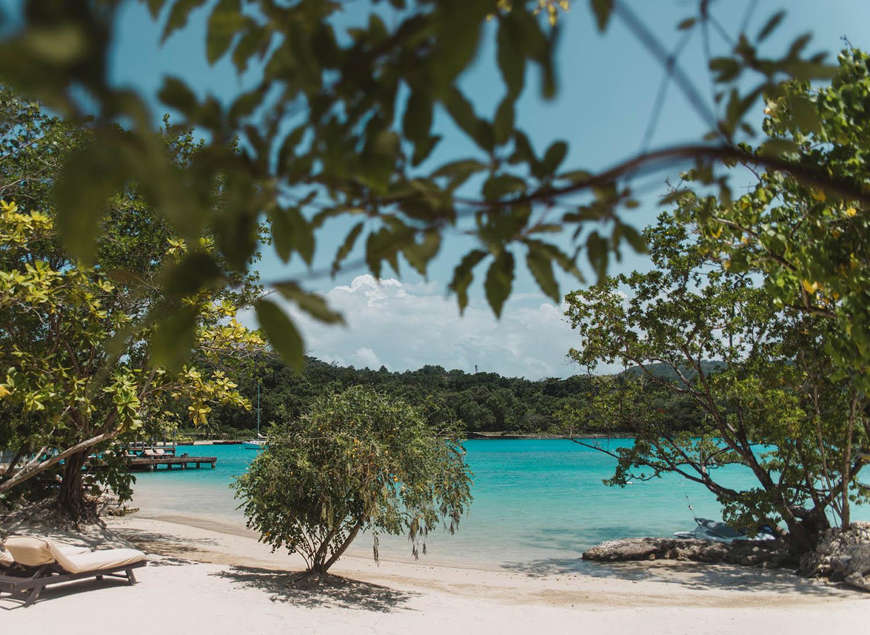 Golden Eye Resort Beach