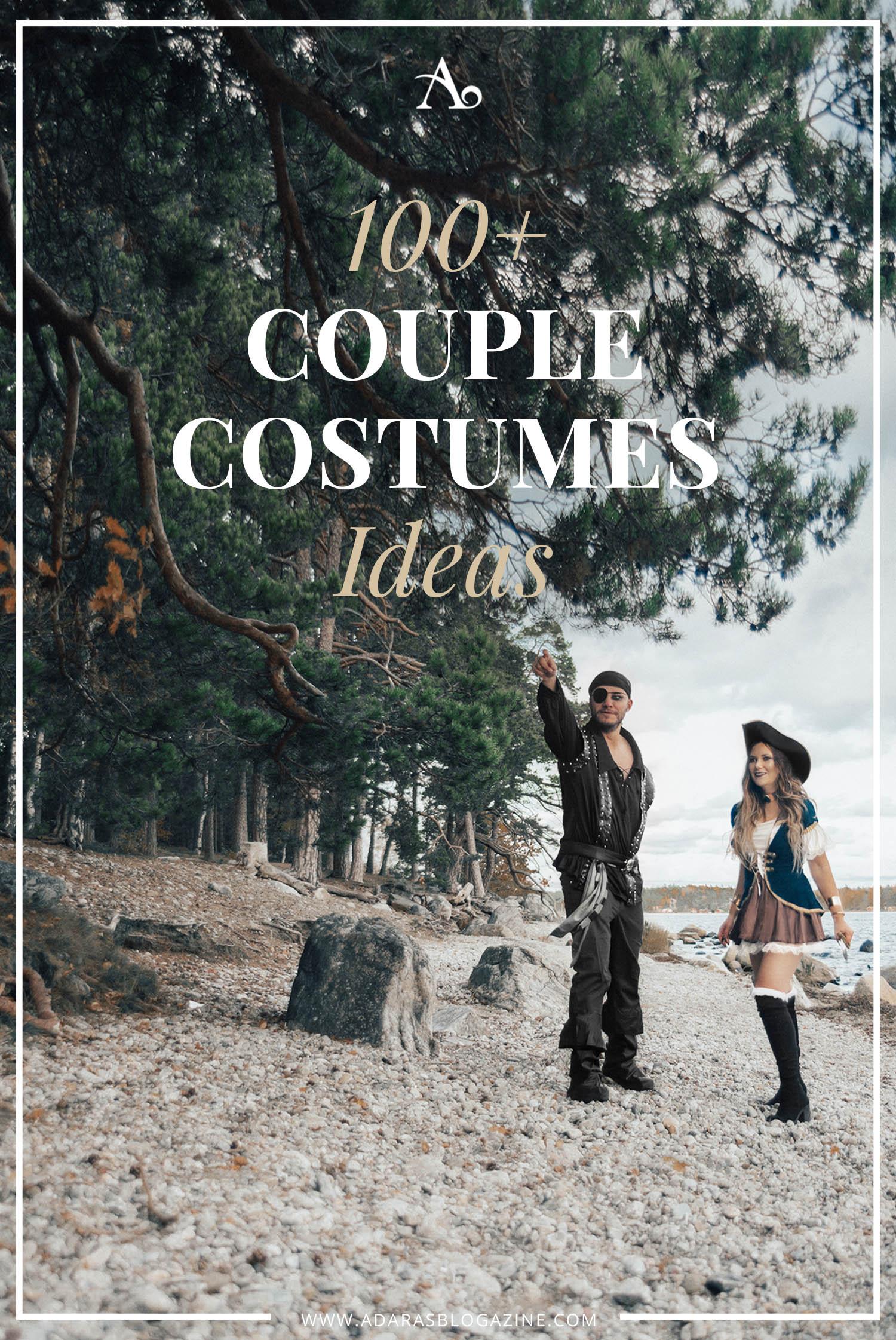 100+ Halloween Couple Costume Ideas