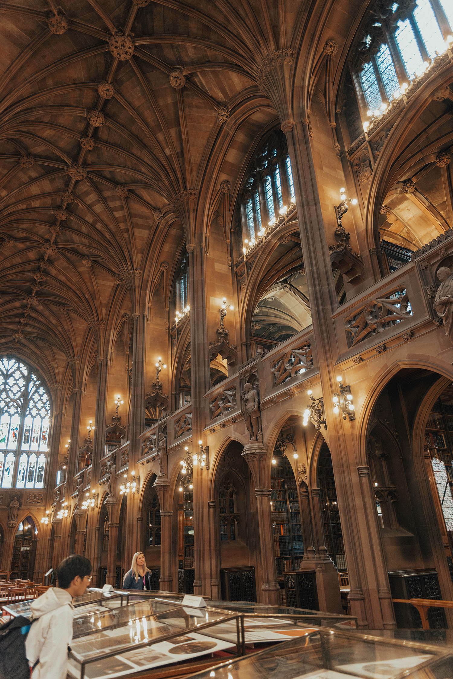 John Rylands Library, Manchester - Beautiful Interior