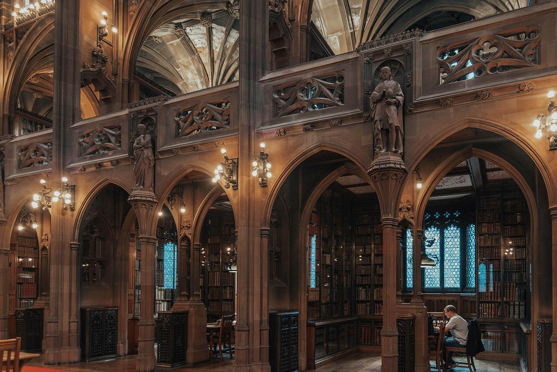 John Rylands Library, Manchester - Interior