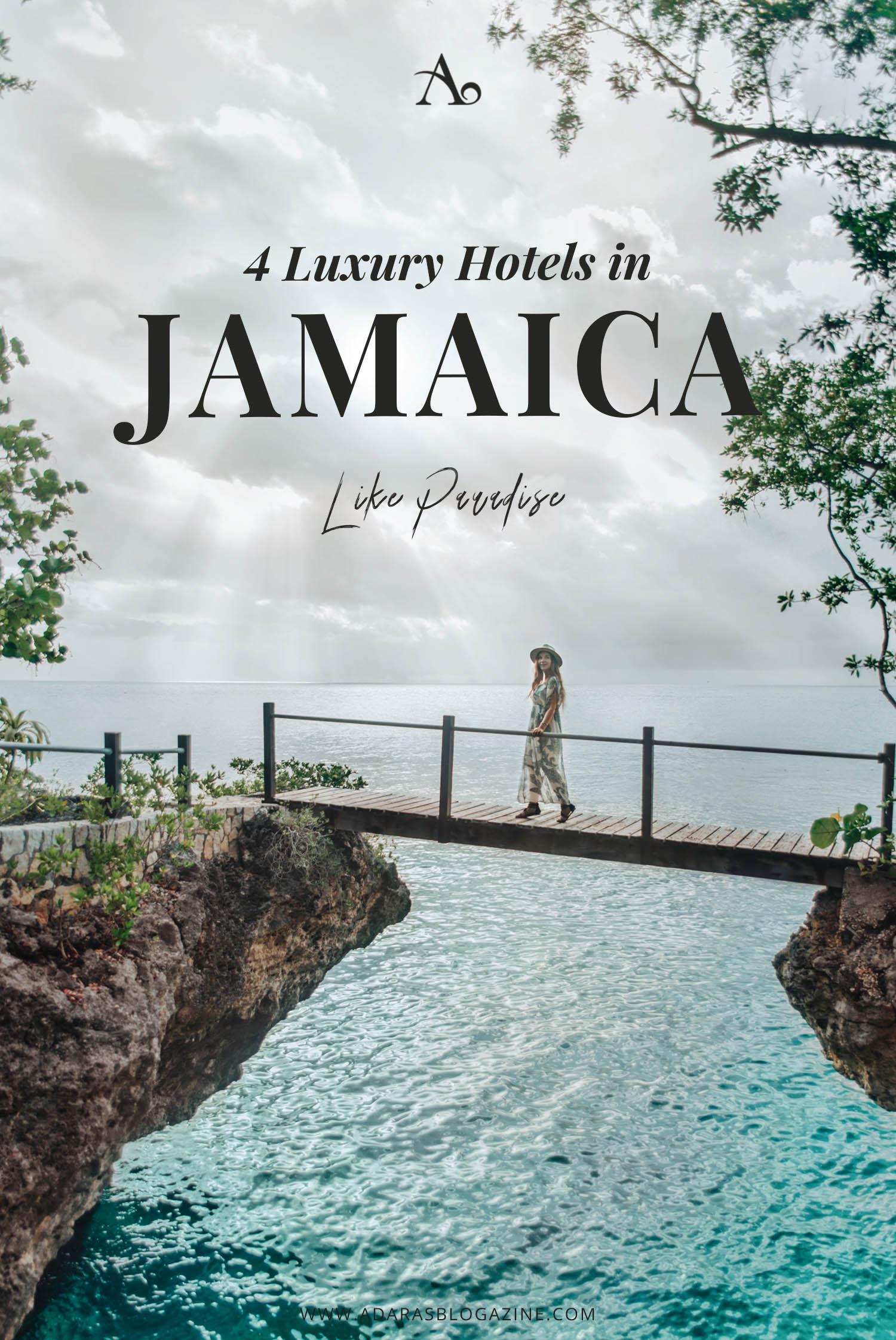 4 Luxury Hotels in Jamaica