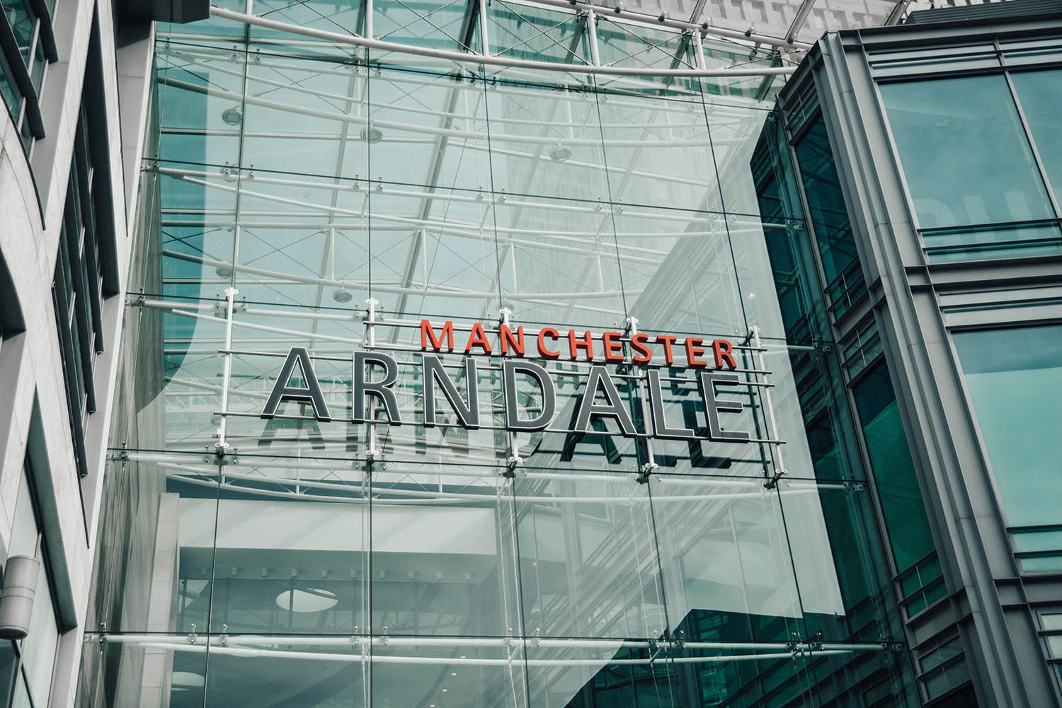 Manchester Arndale Sign