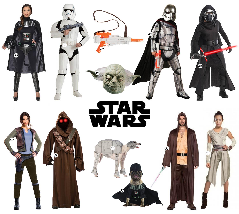 Maskeradkläder för par till Halloween - Star Wars