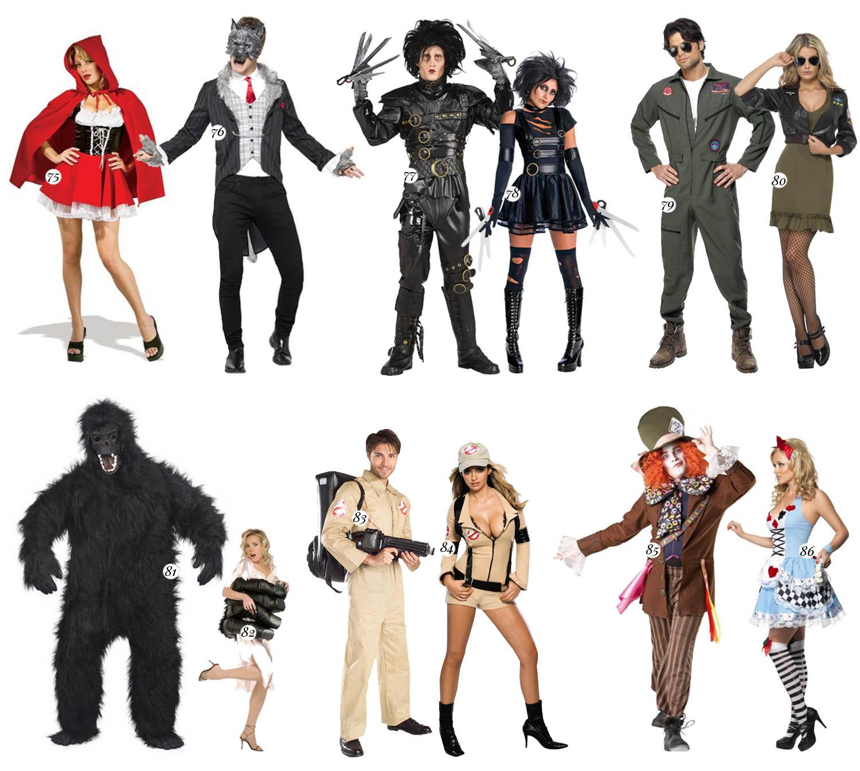 Maskeradkläder för par - Film- & Sagofigurer - Halloween