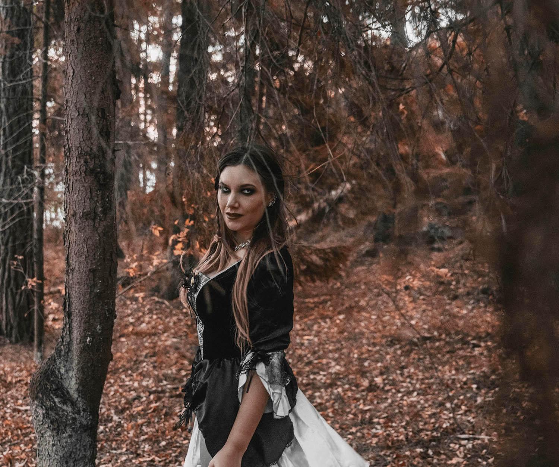 Vampyrmakeup - 6 Enkla Halloween-sminkningar