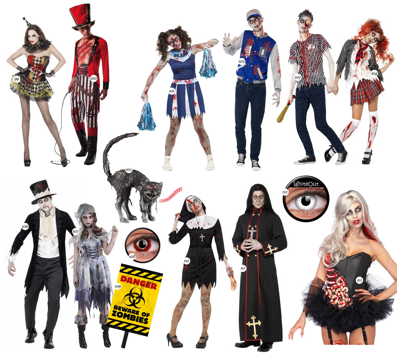 Zombie - Halloween - Maskeradkläder