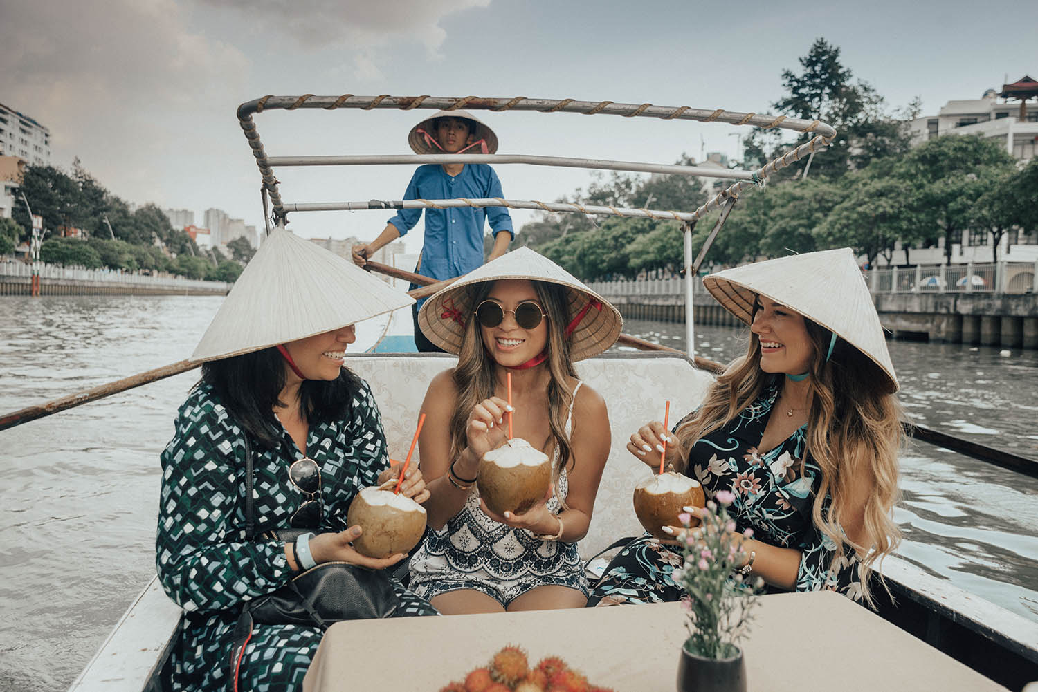 Darlingescapes, Tourdelust & Adaras at Canal Tour in Ho Chi Minh City
