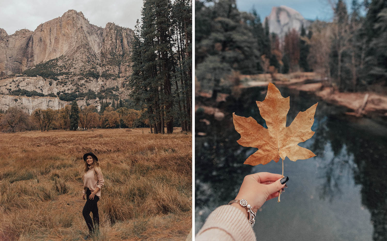 Cozy Knit Outfit Ideas - Yosemite National Park Lookbook