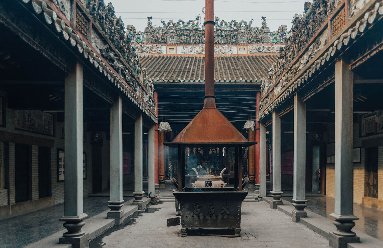 Buddhist Temple in Ho Chi Minh City / Saigon