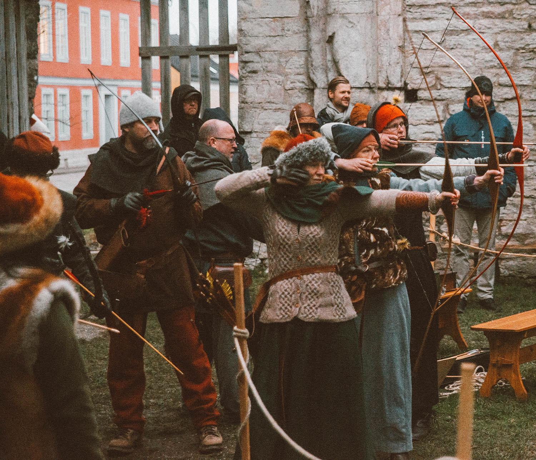 Archery in Drottens Ruin