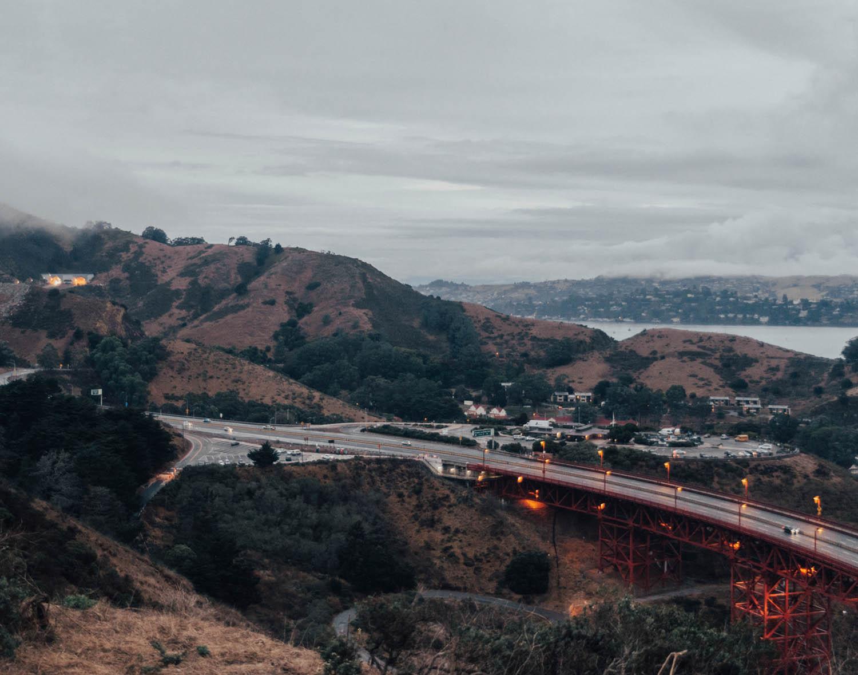 Battery Spencer, Golden Gate Bridge, in San Francisco