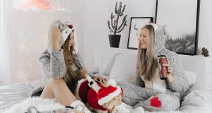 Cosy Christmas Outfits in Bed - Hunkemöller Cosy Collection 2017