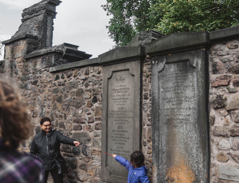 Riddle - Greyfriar's Kirkyard - Harry Potter Places in Edinburgh