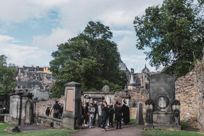 Greyfriar's Kirkyard - Harry Potter Locations in Edinburgh