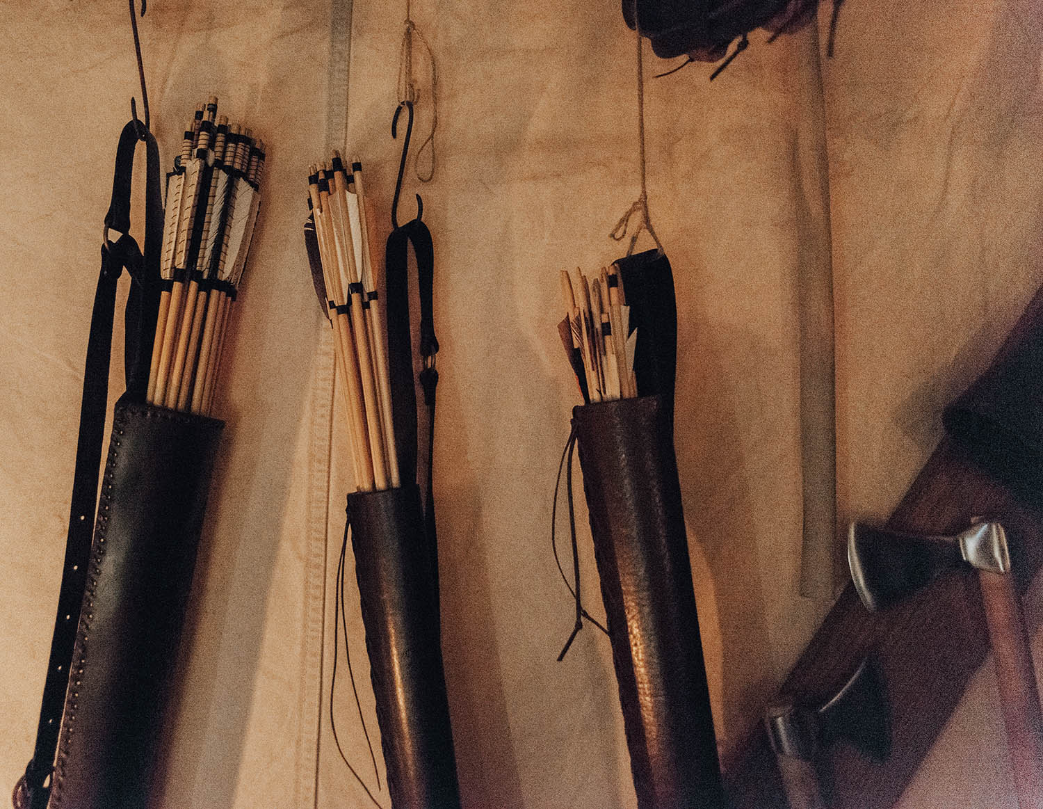 Arrows at Medieval Christmas Market