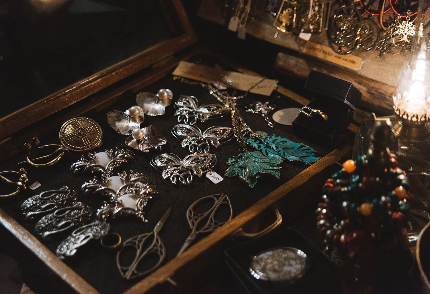 Jewellery at Medieval Christmas Market