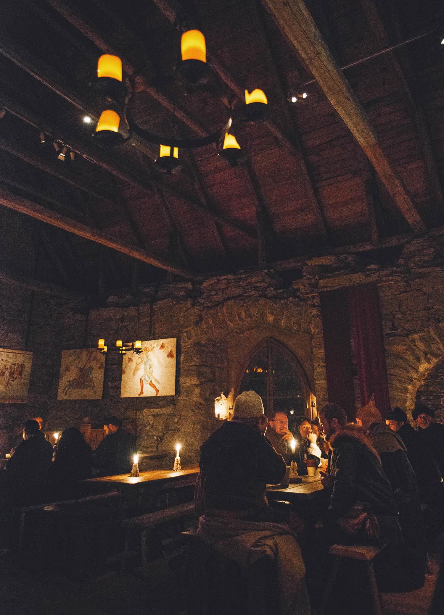 Medieval Dinner at Kapitelhusgården