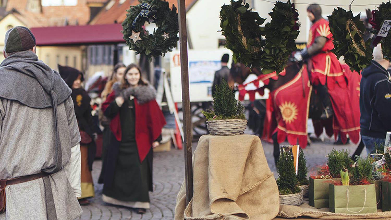 Medeltida Jul på Gotland, Visby