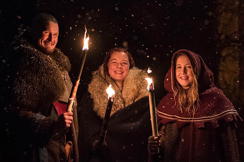 Medeltida Jul i Visby - Gotland